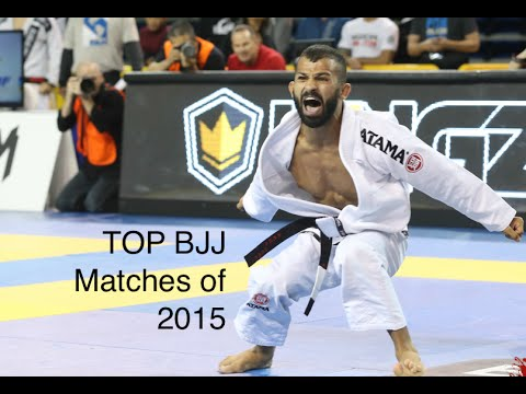 Top BJJ Matches of 2015